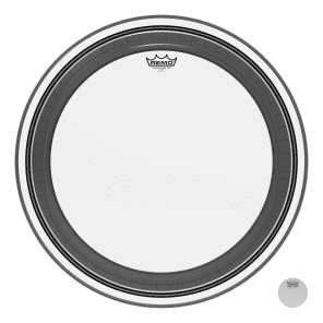 Remo Powerstroke Pro Clear Bass Drum Head 24""