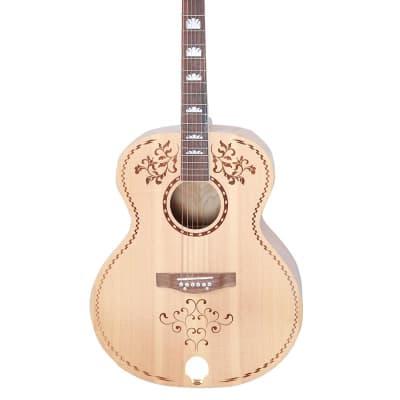 Glen Burton GAJ06DDM-NT Solid Spruce Top Mahogany & Rosewood Neck 42-Inch 6-String Acoustic Guitar for sale