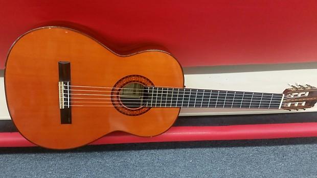 Hernandis Grade No 2 Classical Guitar 1970 Natural Reverb