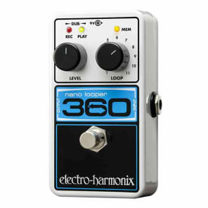 Electro-Harmonix Nano Looper 360 FREE U.S. EXPRESS SHIPPING