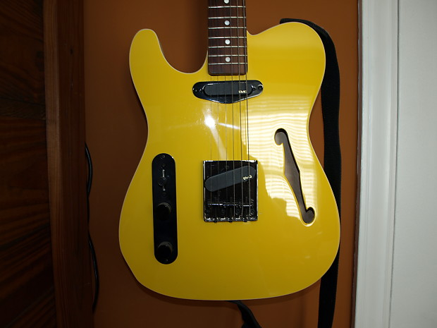 fender tele semi hollow body aftermarket body and neck 2008 reverb. Black Bedroom Furniture Sets. Home Design Ideas