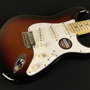 Fender American Standard Stratocaster - Maple Fingerboard - 3-Color Sunburst 0113002700 (276) for sale