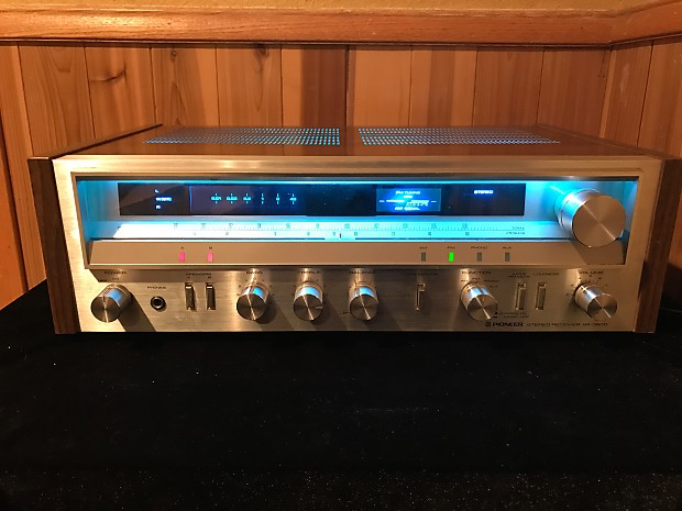 1980 Pioneer Sx 3500 Vintage Silver Face Am Fm Stereo Reverb