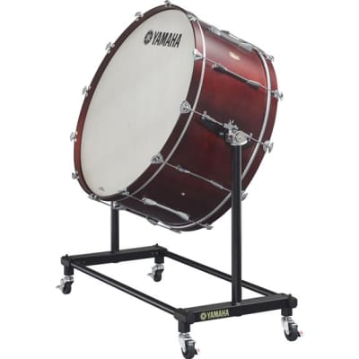 "Yamaha 36""x16"" Intermediate Birch Concert Bass Drum w/ BS-7051 Stand"