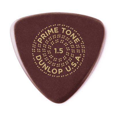 Dunlop 517P15 Primetone Small Tri Smooth 1.5mm Triangle Guitar Picks (3-Pack)