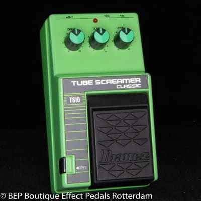 Ibanez TS-10 Tube Screamer Classic 1987 s/n 190102 Japan, JRC4558D as used by John Mayer and SRV