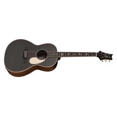 PRS Paul Reed Smith SE P20 Parlor Acoustic Guitar, Mahogany Top, Satin Black Top