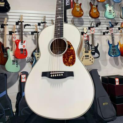 PRS Limited Edition SE Parlor P20E Acoustic-electric Guitar - Antique White Authorized Dealer!