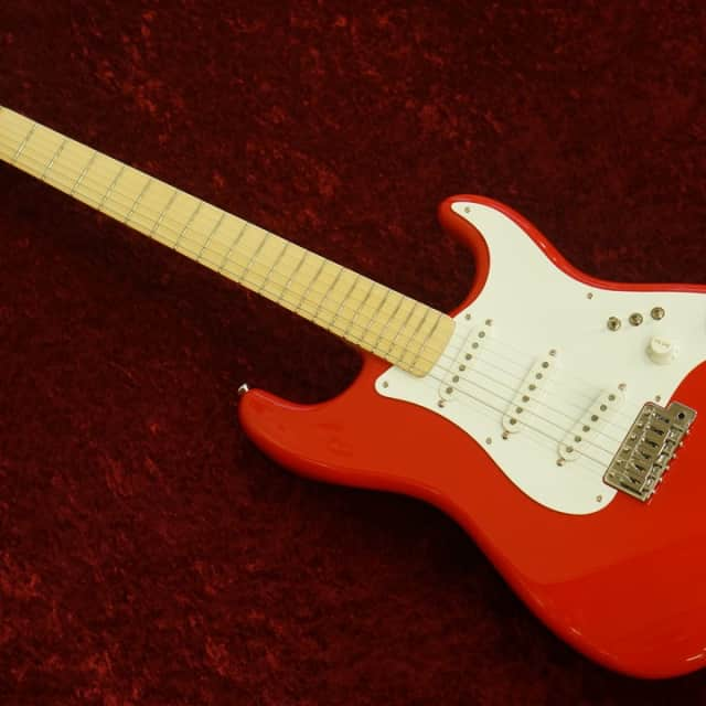 Schecter PS-ST-MN Red  Mark Knopfler Style Made in Japan  w/ free shipping! ** image
