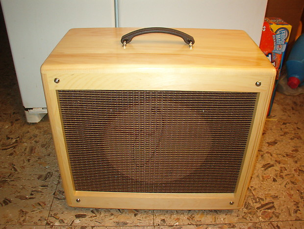1x12 TRM extension guitar cabinet 112 Vintage tweed style.   Reverb