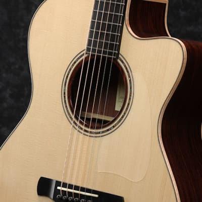 Ibanez  Baritone Acoustic Guitar ACFS380BT 2021 Open Pore Semi-Gloss 2021 Semi-Gloss