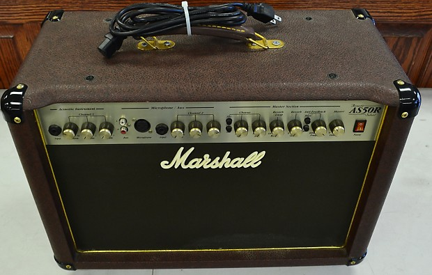 marshall acoustic soloist as50r guitar amplifier amp reverb. Black Bedroom Furniture Sets. Home Design Ideas