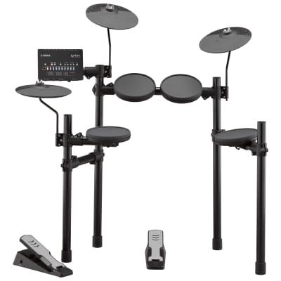 Yamaha DTX-400K 5pc Electronic Drum Set Black-Open Box New