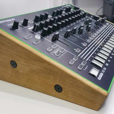 Solid Oak stand for the Roland  AIRA TR-8 Rhythm Performer from Synths And Wood