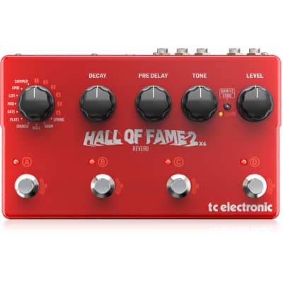 TC Electronic Hall Of Fame 2 x4 Reverb Pedal for sale