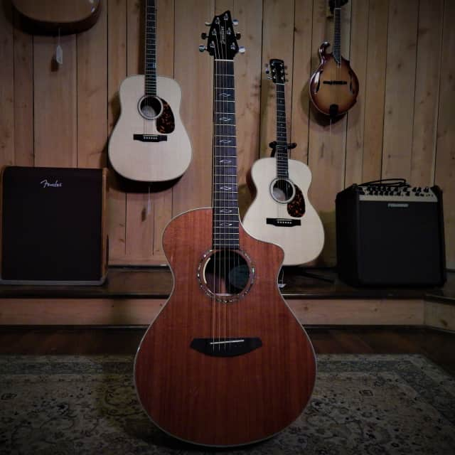 Breedlove Legacy Concert CE Redwood & East Indian Rosewood 2016 Gloss image