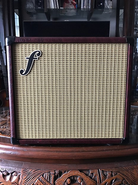forte 3d 1x10 guitar speaker cabinet burgundy wheat reverb. Black Bedroom Furniture Sets. Home Design Ideas