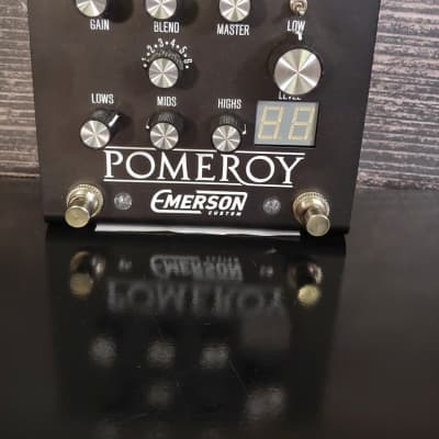 Emerson Custom Pomeroy Analog Overdrive Distortion Black for sale