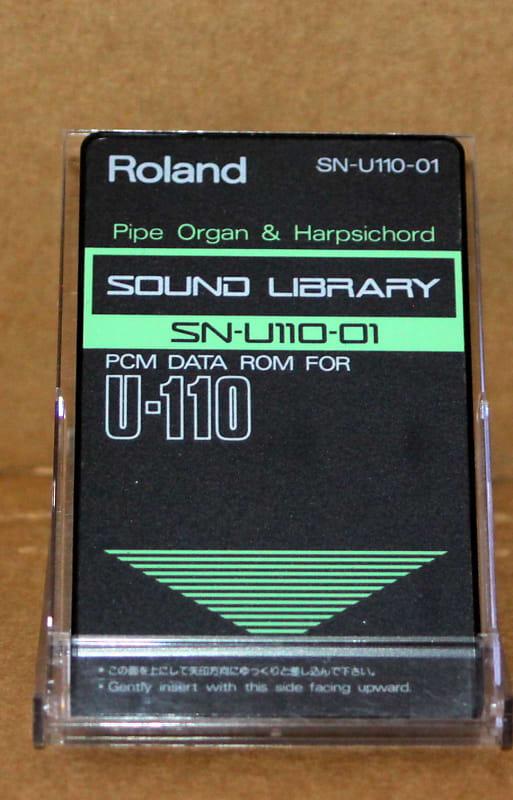 Roland SN-U110-01 Pipe Organ & Harpsichord | Quirky Carousel
