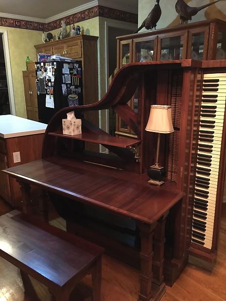 Baby Grand Piano Desk