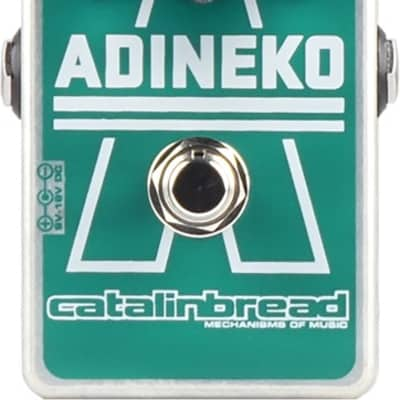 New Catalinbread Adineko Oil Can Delay Guitar Effects Pedal!