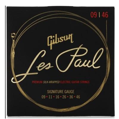 Gibson Les Paul Premium Electric Guitar Strings Signature Guage SEG-LES