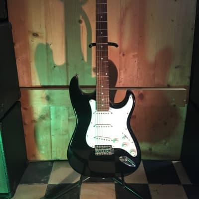 Dimavery Stratocaster Copy black for sale