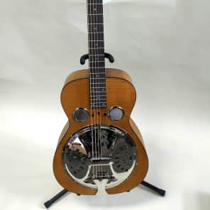 Epiphone Dobro Hound Dog Deluxe Squareneck w/ Fishman Resonator Pickup Vintage Brown