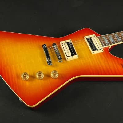 Vintage 1996 Hamer Standard Flame Top - Cherry Sunburst (870) for sale