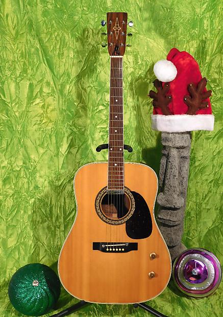 Alvarez 5046 Slm Acoustic Electric Guitar Vintage 1978