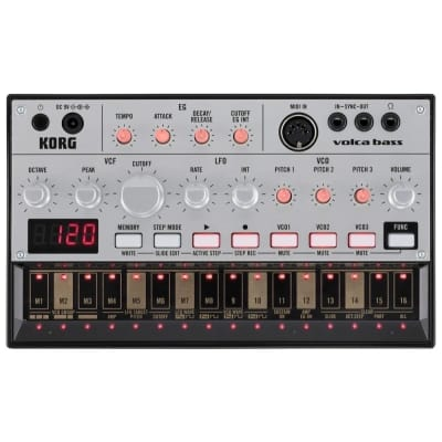 Korg Volca Bass Analog Bass Machine Synthesizer