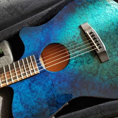 Kiesel AC 375 Custom Thin-Line Acoustic/Electric Guitar for sale