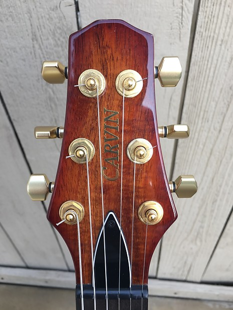 carvin kiesel sh645 sh645 koa custom shop semi hollow guitar reverb. Black Bedroom Furniture Sets. Home Design Ideas