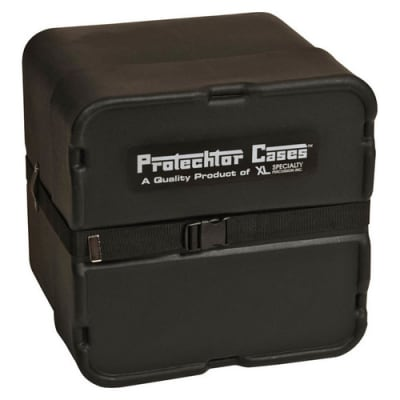 Gator GP-PC219 Classic Marching Snare Drum Protechtor Case (Larger Size, Black)