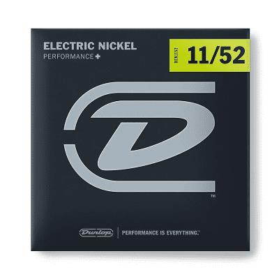 Dunlop DEN1152 Performance+ Nickel Wound Electric Guitar Strings (11-52)