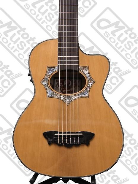 oscar schmidt acoustic electric requinto guitar with gig bag reverb. Black Bedroom Furniture Sets. Home Design Ideas
