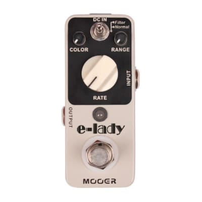 MOOER E-Lady Analog Flanger/Filter MICRO Guitar Effect Pedal True Bypass Ships Free US image