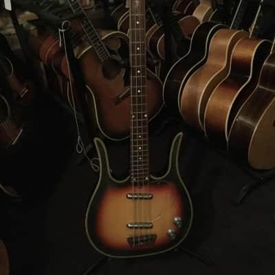 Dynelectron Longhorn Bass Guitar circa 1960 (Extremely Rare) for sale