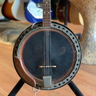 Kay 19 fret Tenor Banjo 1950's with resonator for sale