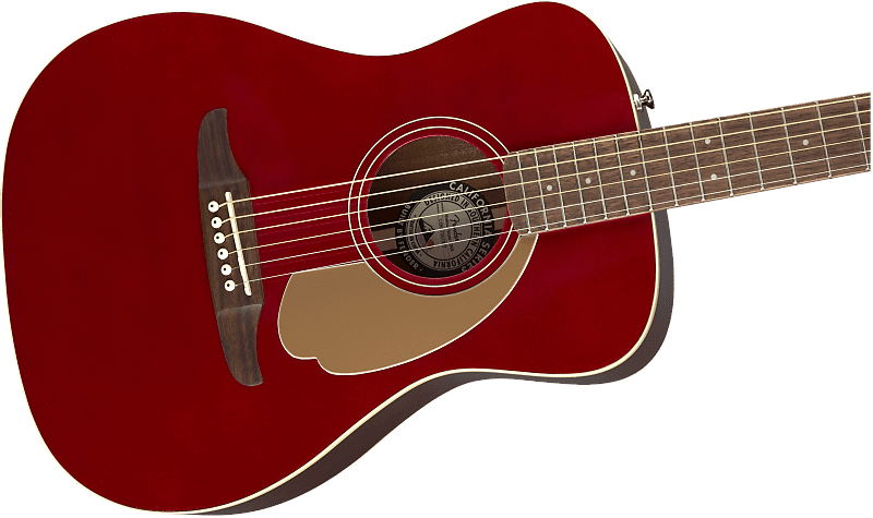 new 2018 fender malibu player candy apple red authorized reverb. Black Bedroom Furniture Sets. Home Design Ideas
