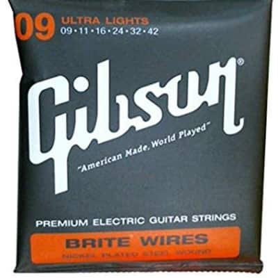 Gibson Brite Wires Ultra Light, 9-42 for sale