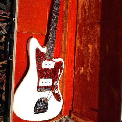 FenderVintage  JazzMaster 1963 Olympic white w case All Original!