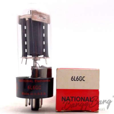 National 6L6GC/VT-115/CV1948/6Л6 Power Amplifier Valve TV Valve- BangyBang Tubes