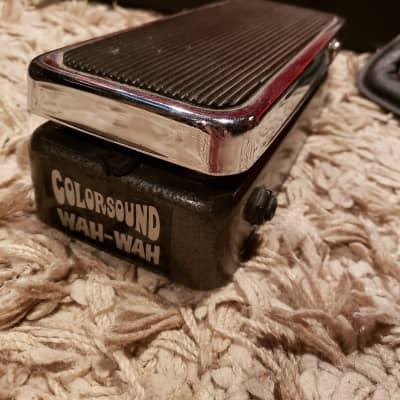 Vintage 70s Colorsound Wah Wah Pedal for sale