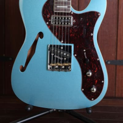 Revelation TSS Thinline Short Scale Semi-Hollow Electric Guitar for sale