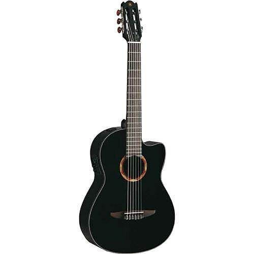 yamaha ncx700 acoustic electric classical guitar black reverb. Black Bedroom Furniture Sets. Home Design Ideas