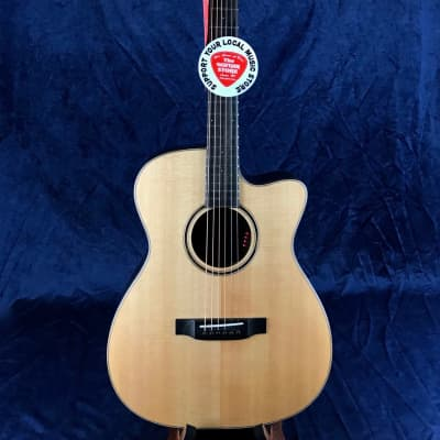 Auden Artist Rosewood Bowman Model Spruce Top Cutaway in Hard Case for sale