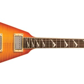 Hamer VECF-HB Vector Flame Top V-shape Electric Guitar NEW, Free Hamer Gig Bag & Shipping! for sale