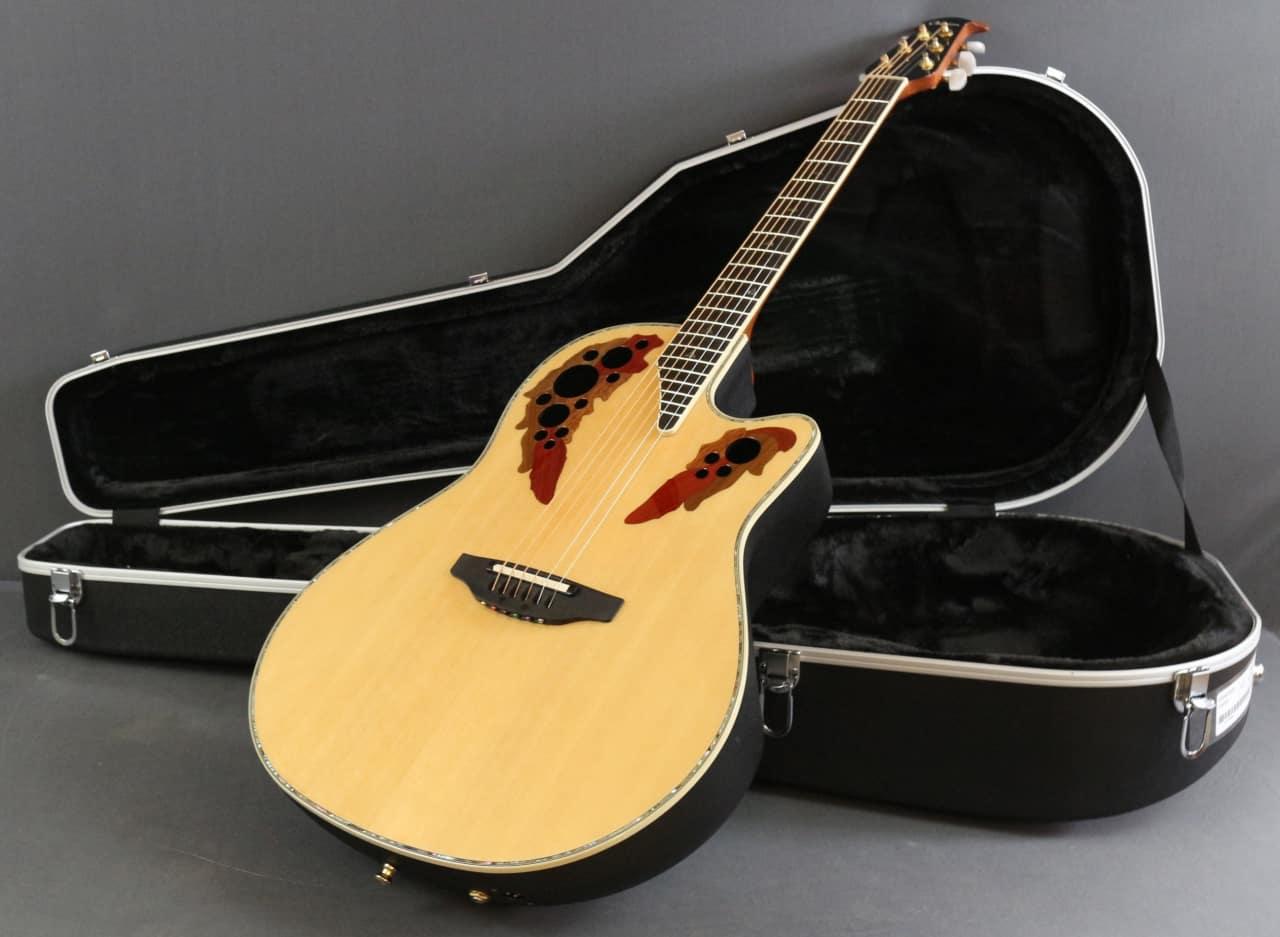 Ovation custom elite c2078ax deep contour acoustic for Custom elite com