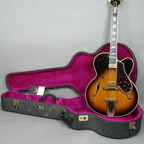 1968 Gibson Johnny Smith Original Vintage Hollowbody Archtop Electric Guitar Sunburst w/OHSC for sale